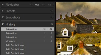 3 Lightroom History Tips