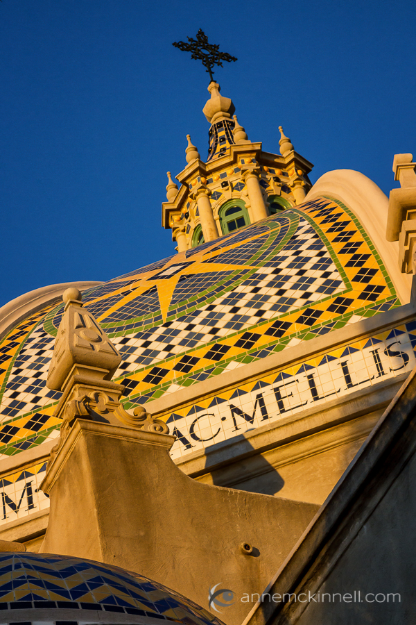 photography rut motivation - The Museum of Man, Balboa Park, San Diego, by Anne McKinnell