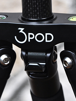 The 3Pod P5CFH tripod folds flat, providing an innovative and reliable option for photographers looking for an affordable carbon-fiber tripod system.