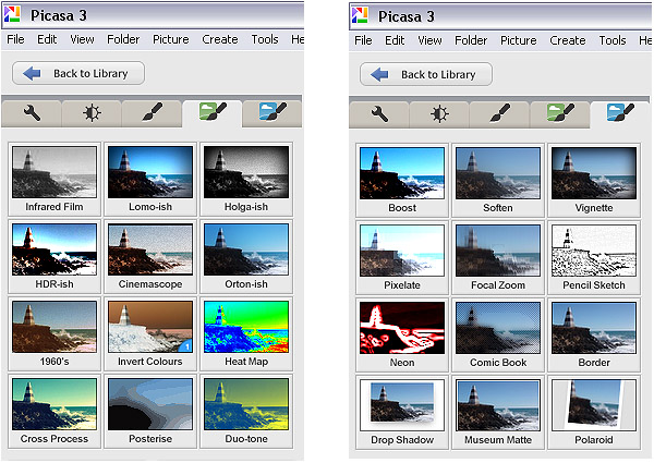 Getting to Know Picasa – a Free Image Editor and Browser by Google