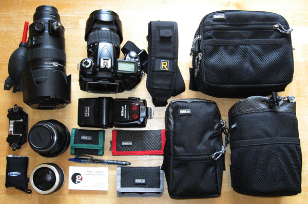 Contrary to popular belief, it is possible to travel light while shooting sports.
