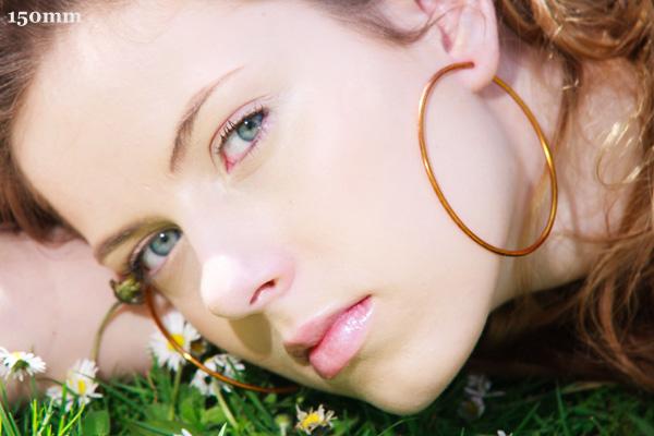 Портрет с объективом 150 мм