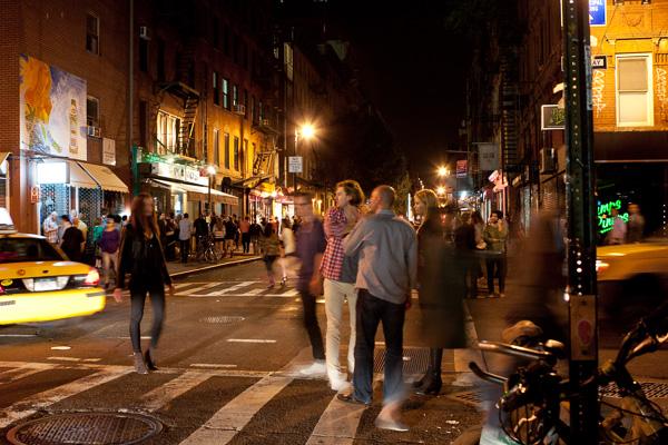 Motion blur Fotografia noturna de rua