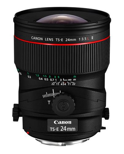 Canon 24mm tilt-shift lens