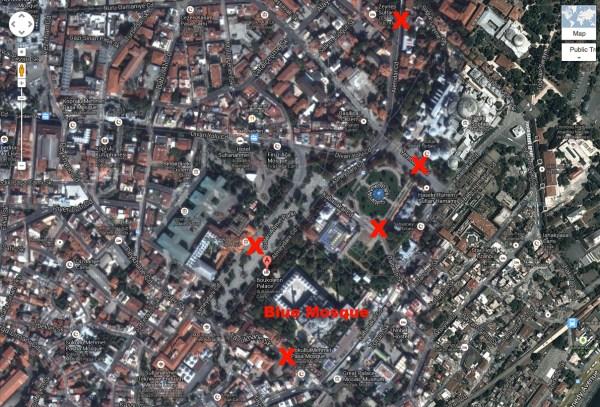 Istanbul-Turkey-Google Maps