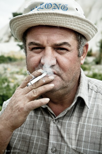 Photographing People-Kav Dadfar-Smoking Man