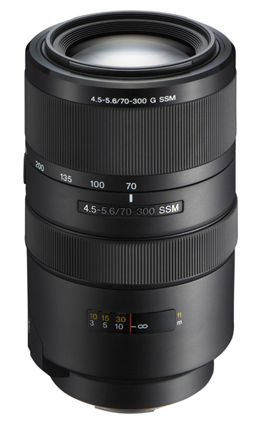 Sony zoom lens