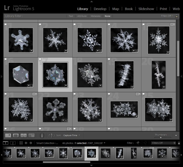 snowflakes-library