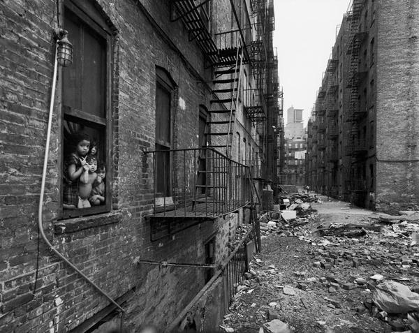 East 100th Street, Spanish Harlem, 1966.