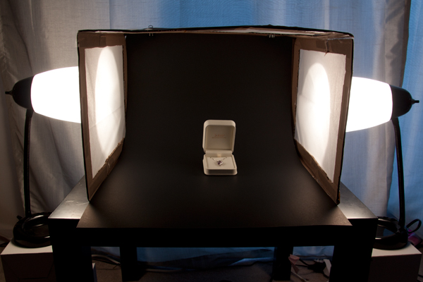light tent, DIY, how to, photography