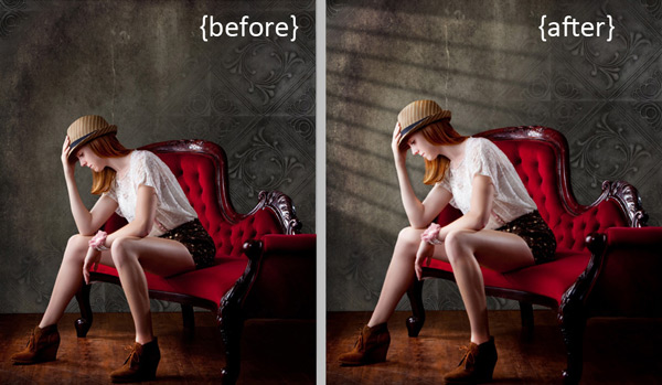 Create a Cast of Light in Your Image using Photoshop or Elements