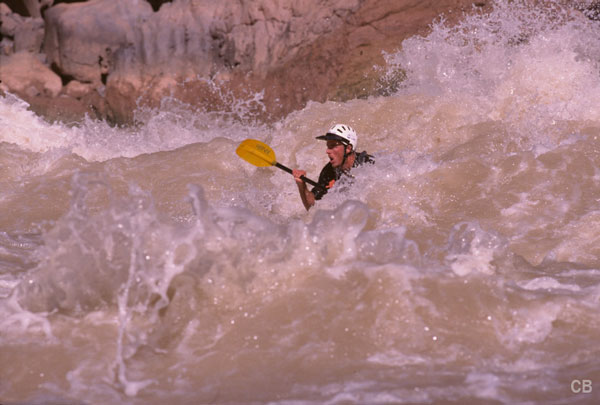 Kayak grd cyn lava falls rapid 0001