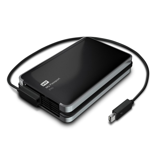 Western Digital announce My Passport Pro Thunderbolt Raid