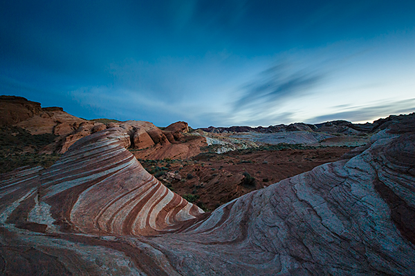 The Fire Wave at Valley of Fire State Park. 4 minutes, f/16, ISO 160. EOS 5D Mark III with EF 16-35 f/2.8L II.
