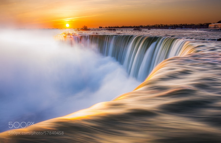 Photograph Morning at the Falls II by Derek Kind on 500px