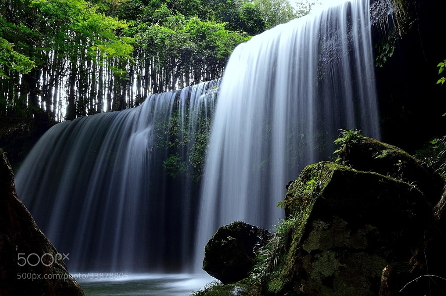 Photograph Silk waterfall by yoshi ?? on 500px