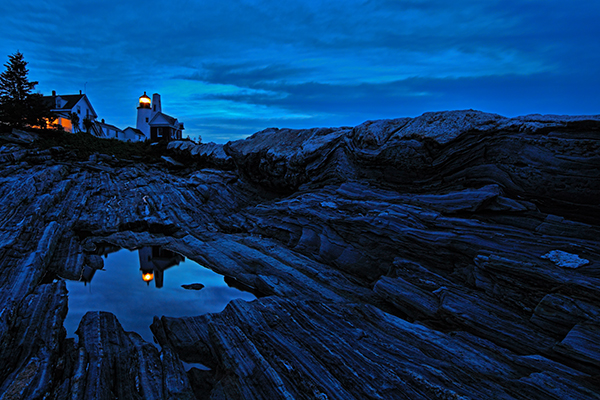 Pemaquid Point, Maine. EOS 5D Mark II with TS-E 17mm f/4L. 8 seconds, f/11, ISO 400.