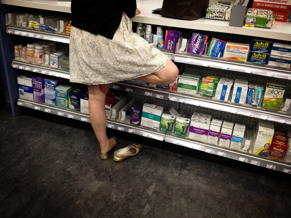 Dancer in Pharmacy