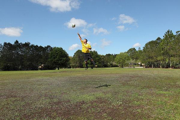 20 soccer jump