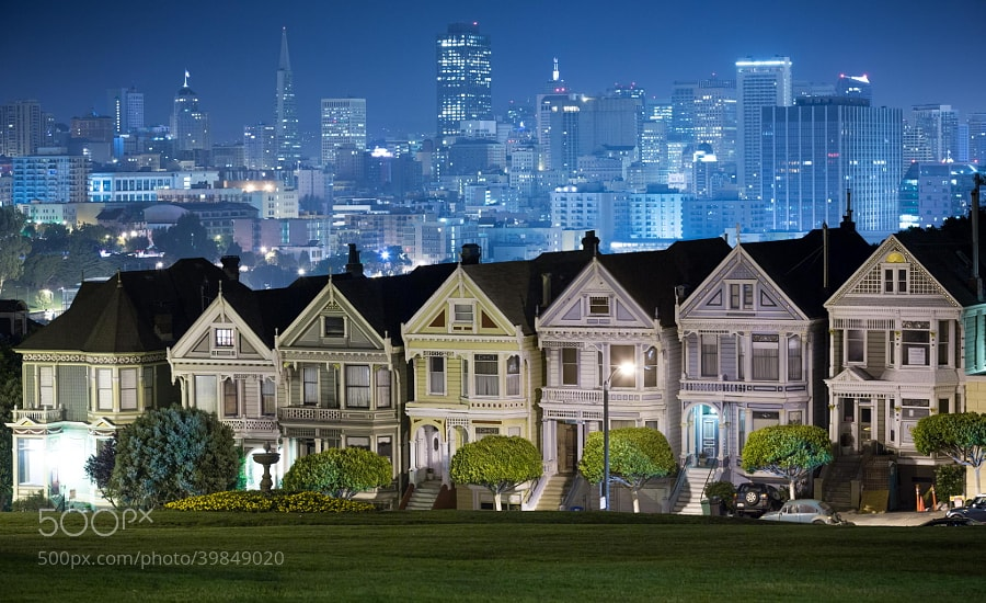 Photograph Painted Ladies by Bobby Gibbons on 500px