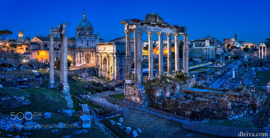 Photograph Roman Forum (Rome, Italy) by Domingo Leiva on 500px