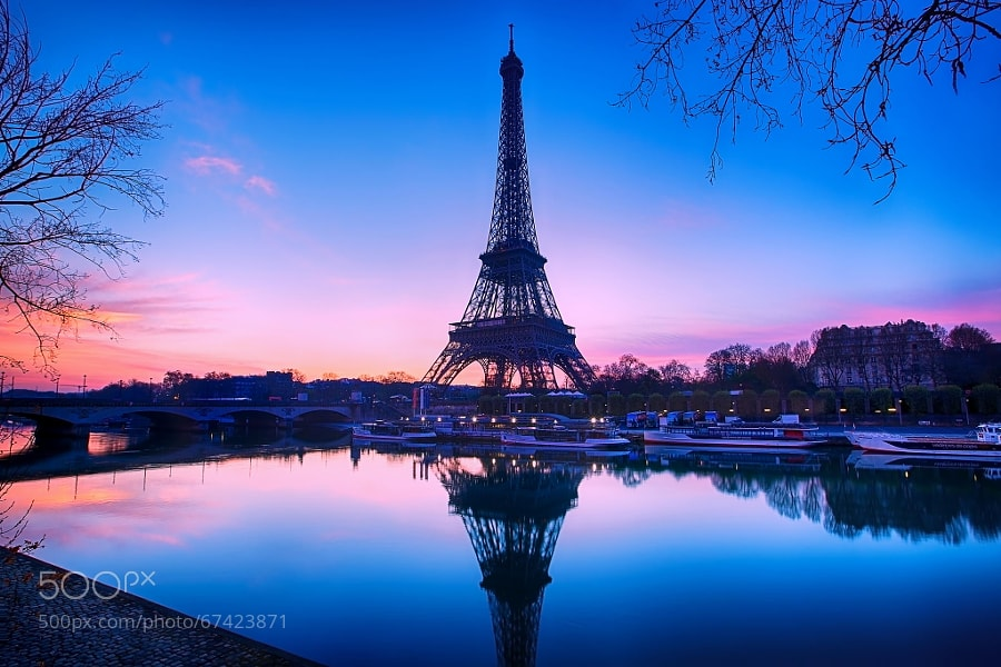 Photograph Pink Paris... by Charlie Joe on 500px