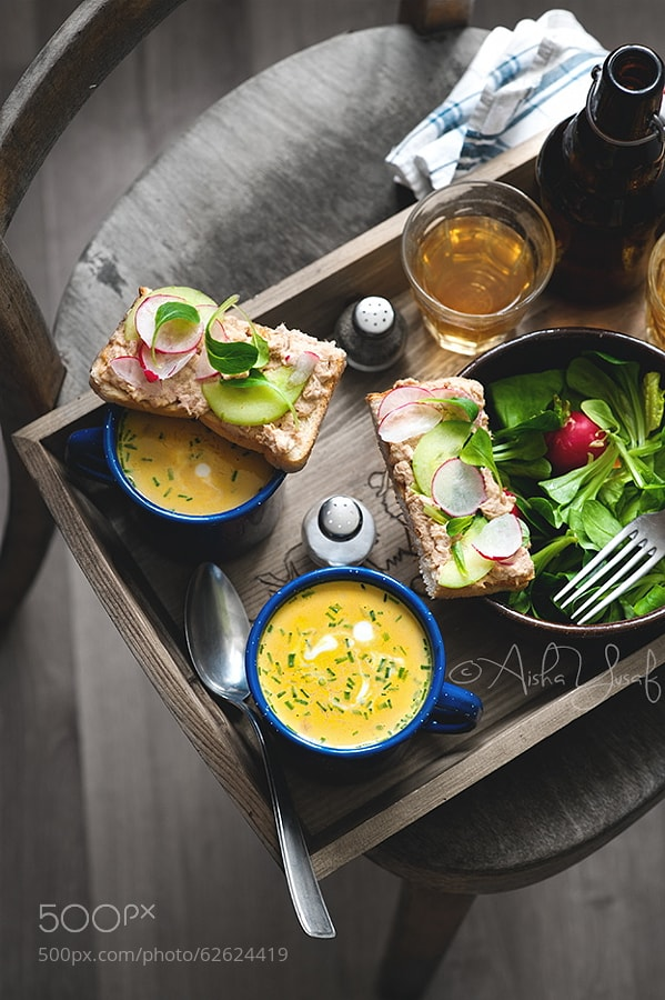 Photograph Sandwich and Soup by Aisha Yusaf on 500px