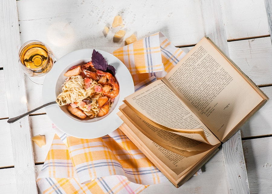 Photograph Pasta with seafood by Mykola Velychko on 500px