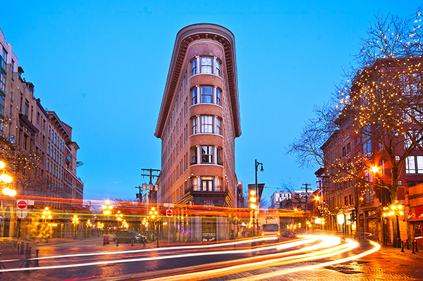 Gastown Light Trails
