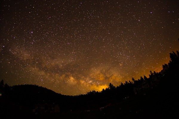 iso setting for night sky photography