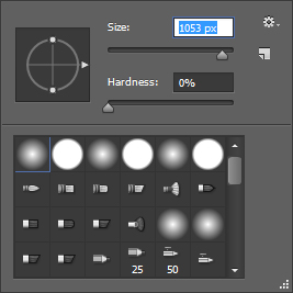 Photoshop Easer Tool