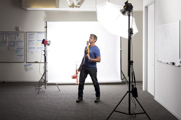 Corporate Portrait Lighting Setup