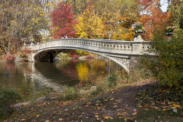 Bow Bridge in Fall, Adobe RGB