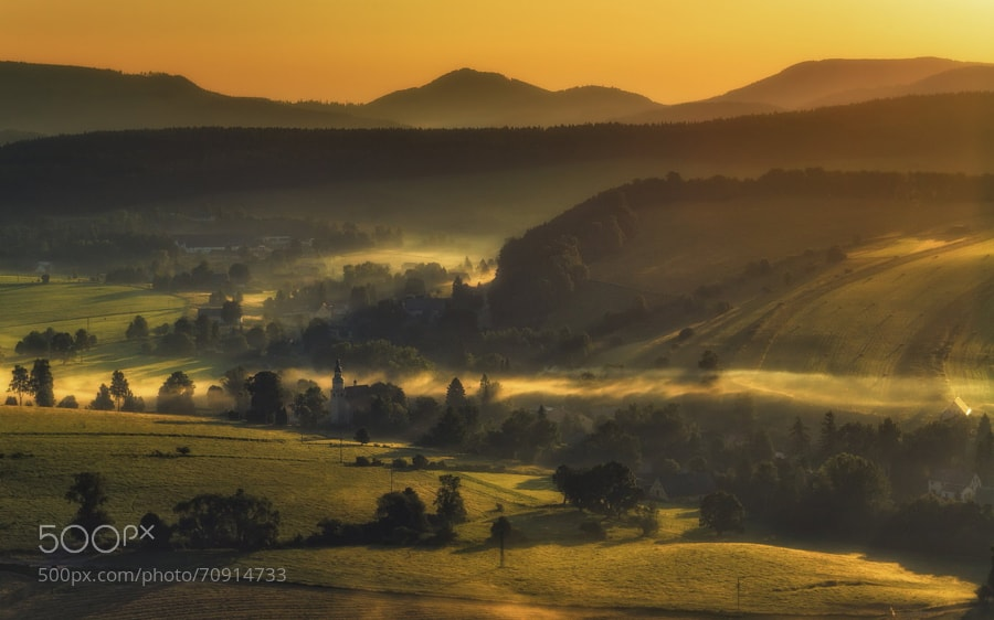 Photograph Morning valley by Pawe? Uchorczak on 500px