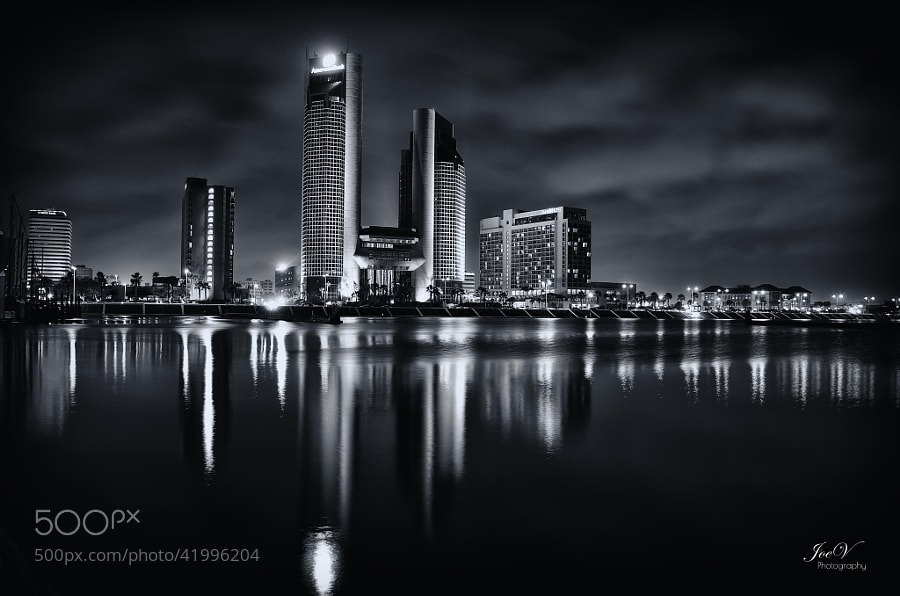 Photograph Corpus Christi at Night by Joe V on 500px