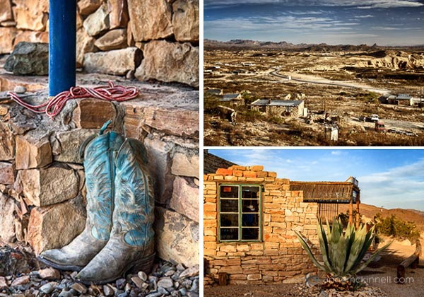 Terlingua Ghost Town Texas by Anne McKinnell