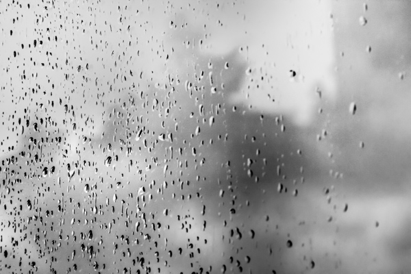 Rain on glass small