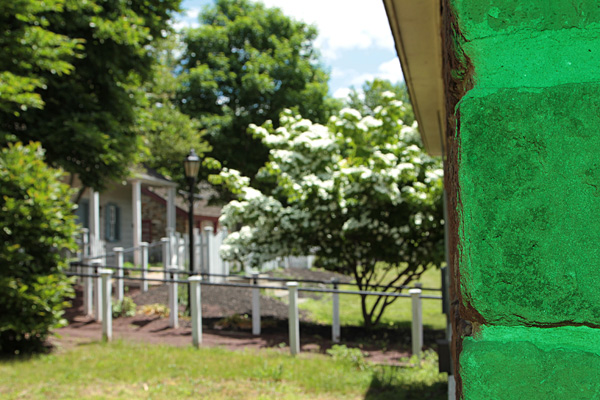 Wall mossblue 600