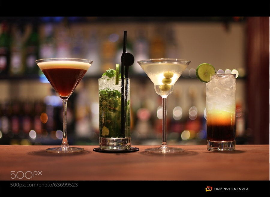 Photograph Cocktails by Jeremie Montessuis on 500px