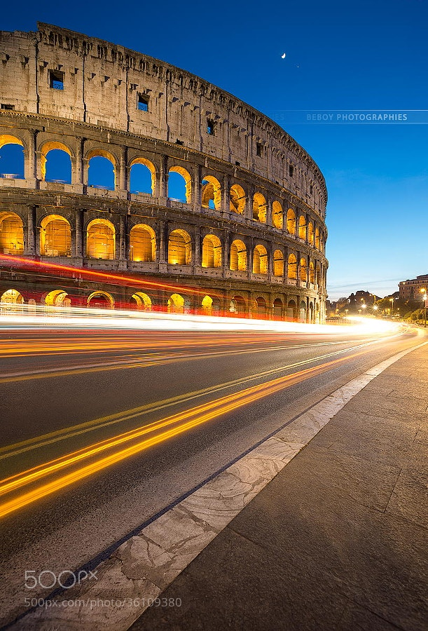 Photograph Coliseum, past and future !  by Beboy Photographies on 500px