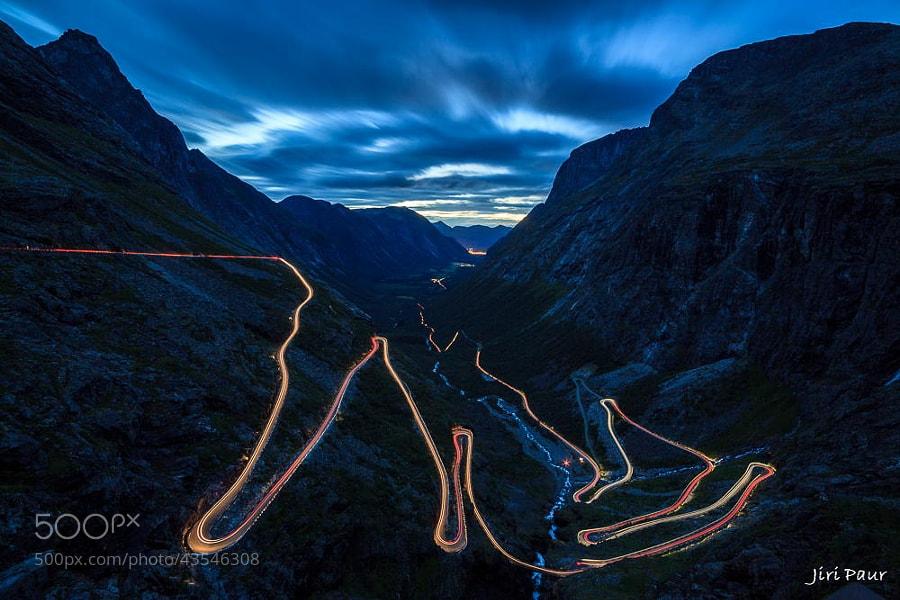 Photograph Trollstigen by Jiri Paur on 500px