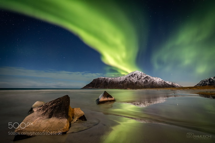 Photograph Aurora Shore by Max Ramuschi on 500px