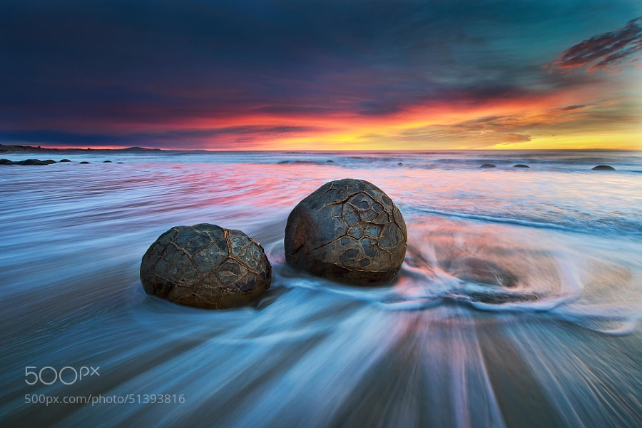 Photograph Moeraki Boulders by Yan Zhang on 500px
