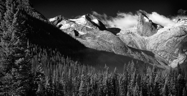 Bugaboo mountains for photographers