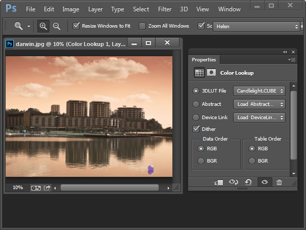 Creatively Recolor Photos with Color Tables in Photoshop