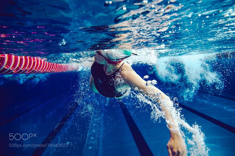 Photograph Swimmer by Daniel Stefan on 500px