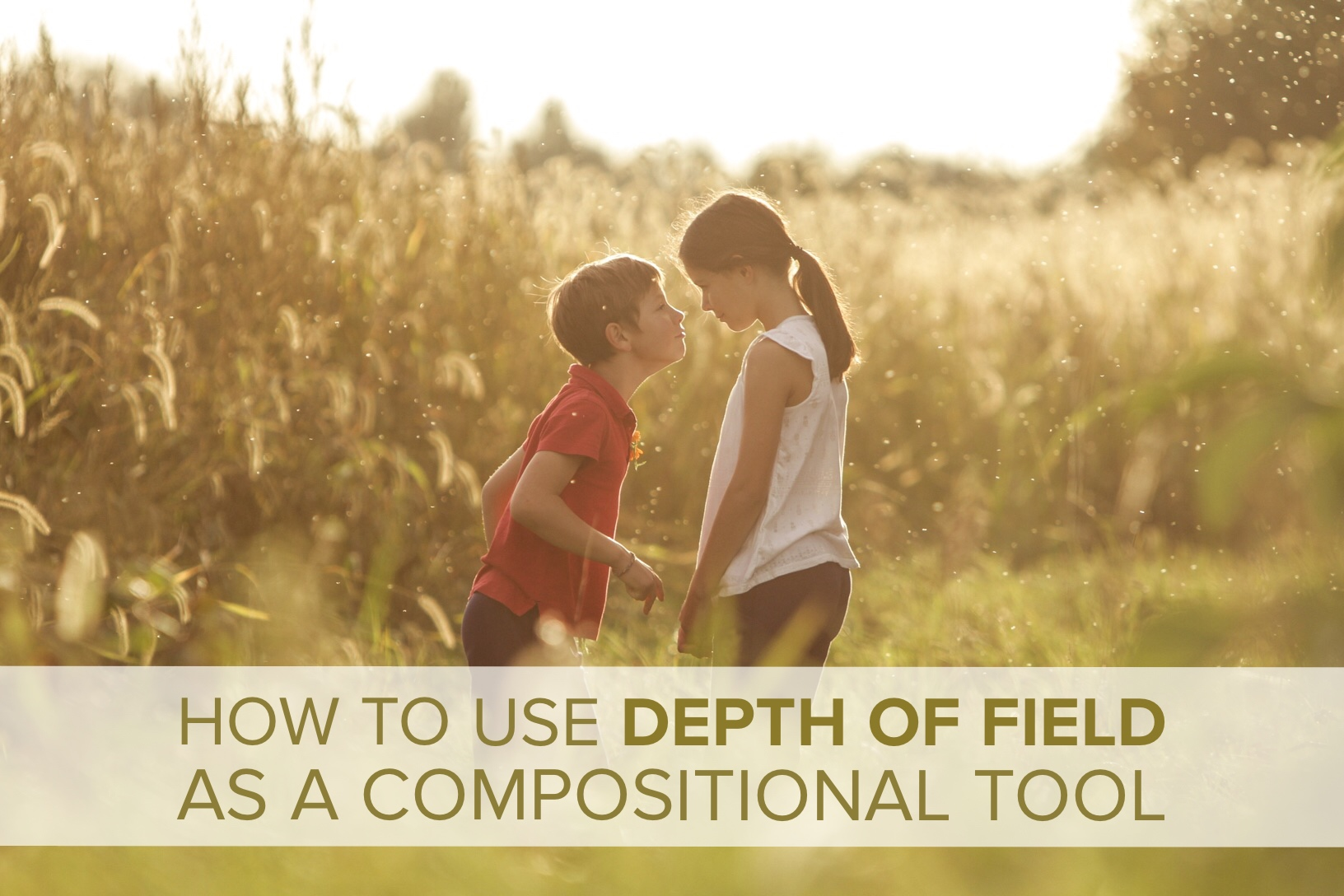 Using Depth of Field as a Compositional Tool