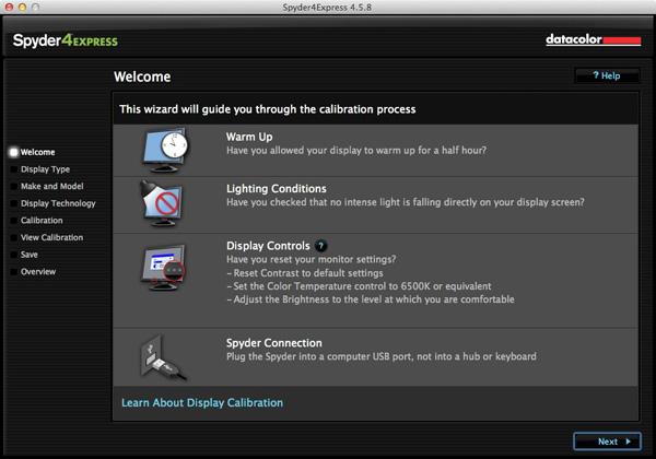 Calibrador de color color negro y plateado USB Datacolor Spyder 4 Express