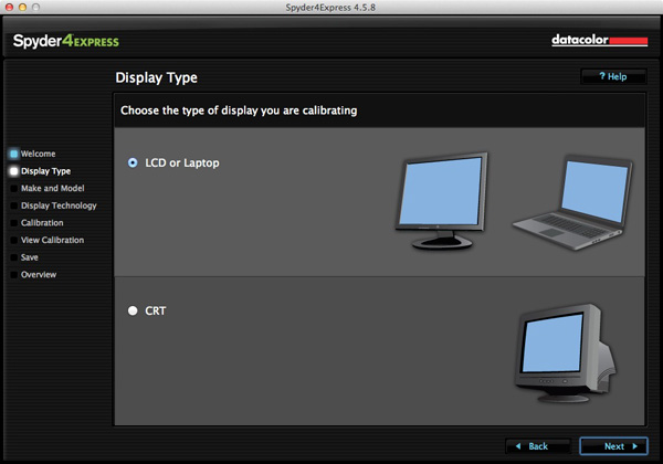 Monitor calibration with Spyder 4 Express