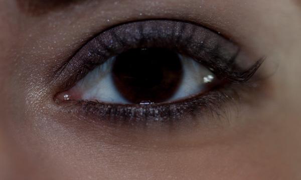 Badly lit eyes